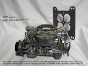 1958 CADILLAC OEM 4 BARREL CARBURETOR - REBUILT